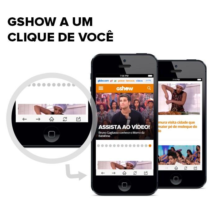 Tutorial Gshow (Foto: Tv Globo)