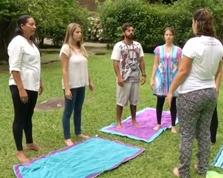 curso em Visconde de Mauá ensina técnicas de respiração (Foto: Reprodução Rio Sul Revista)