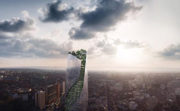 Tolouse, na França, recebe seu primeiro arranha-céu (Foto: Divulgação)