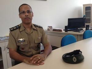 Coronel Renganeschi é supervisor chefe do Colégio Militar de Salvador (Foto: Alex de Paula/G1)