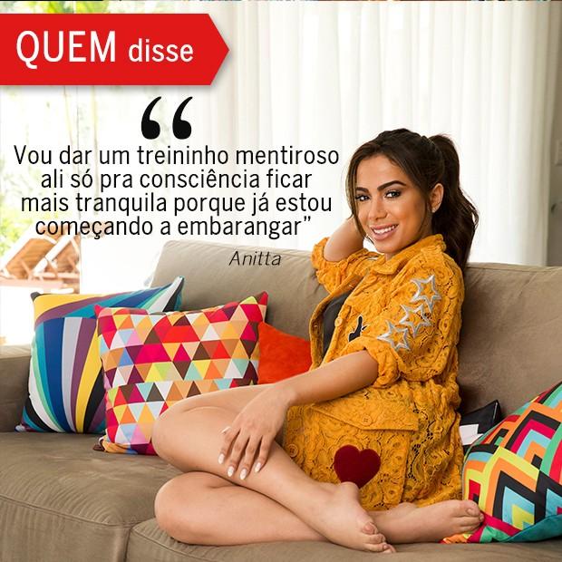 QUEM Disse: Anitta (Foto: Reprodução/ Revista QUEM)