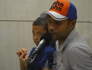 Lenílson, meia do Botafogo-PB (Foto: Larissa Keren / GloboEsporte.com/pb)