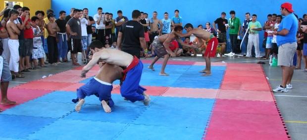 luta livre amazonas (Foto: Frank Cunha globoesporte.com)