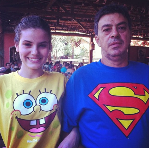 Camila e o pai, Sérgio (Foto: Reprodução Instagram)