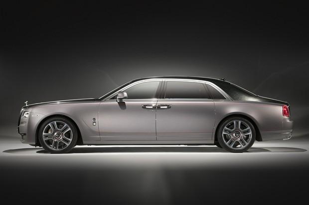 Rolls-Royce Ghost Elegance 2017 (Foto: Divulgação)