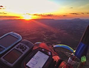 Parapente, recorde mundial, paraiba (Foto: Divulgação)