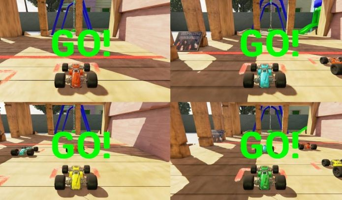 Apenas seis pessoas fizeram Remote Race, que funciona no multiplayer (Foto: Divulgação)