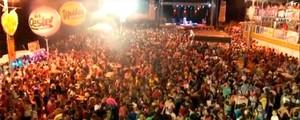 Carnaval da Chapada arrasta mais de 50 mil atrás de trios elétricos  (Reprodução/Inter TV Cabugi)