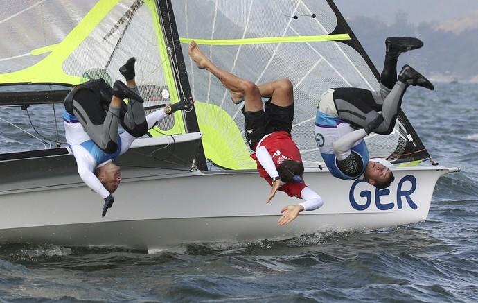 Erik Heil Thomas Ploessel vela olimpíada rio 2016 (Foto: REUTERS/Benoit Tessier)