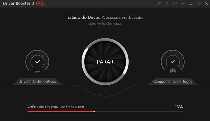 Driver Booster tem design mais agradável (Foto: Reprodução/Paulo Alves)