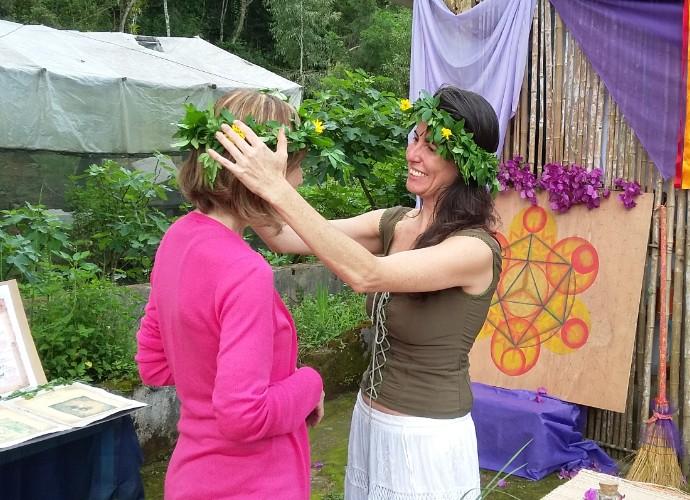 Teresa Freitas ganhou uma coroa das erveiras de Mauá (Foto: Rio Sul Revista)