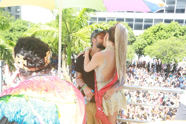 Bruno Gagliasso e Giovanna Ewbank (Foto: Dilson Silva/AgNews)