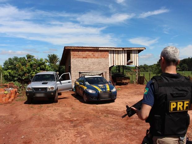 Agrotóxicos chineses foram importados ilegalmente, segundo a PRF (Foto: Divulgação/Polícia Rodoviária Federal)