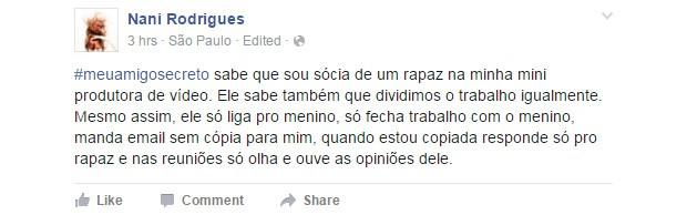 #meuamigosecreto 11 (Foto: Reprodução/Facebook)
