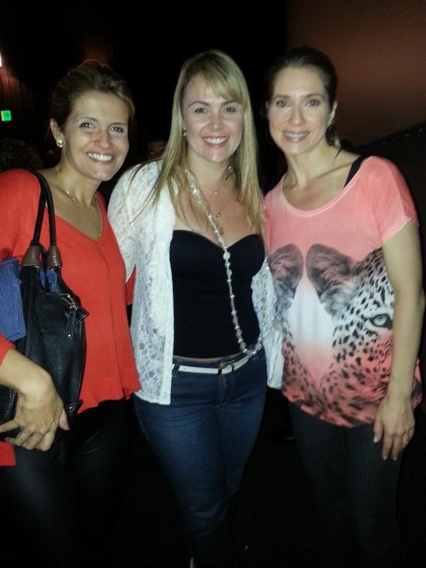 Tatiana Maranhão, Ana Paula Pituxita e  Leticia Spiller no lançamento do 'XSPB 12' (Foto: Foto Guimaraes assessoria/ Divulgação)