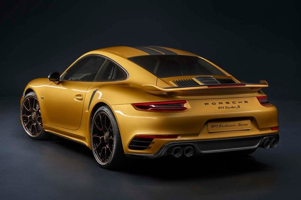 Porsche 911 Turbo S Exclusive Series Coupe (Foto: Divulgação)