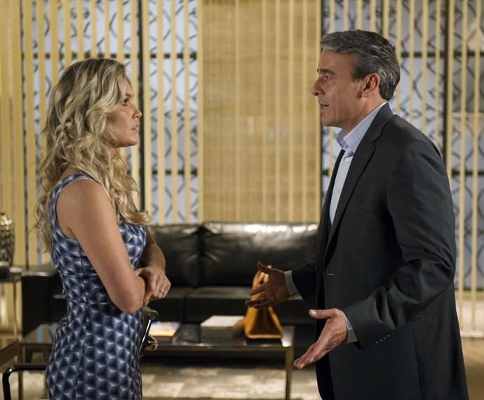 Flávia interpretou a boazinha Heloísa em sua última novela, 'Além do Horizonte' (Foto: Renato Rocha Miranda/TV Globo)
