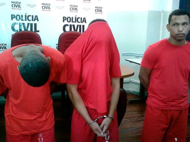 Três são presos suspeitos de matar adolescente após briga por causa de apelido em Belo Horizonte (Foto: Divulgação/ Polícia Civil)
