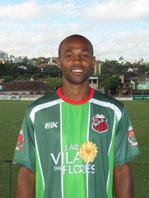 MIkimba estava atuando pelo Riograndense (Foto: Divulgação/Riograndense-RS)
