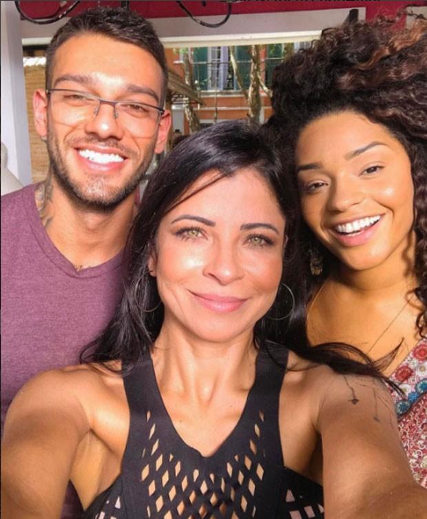 Lucas Lucco, Anna Lima, Juliana Alves (Foto: Reprodução / Instagram)