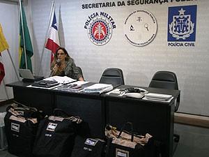Polícia prende mais pessoas na segunda etapa da Operação Prometheus. (Foto: Divulgação/ SSP-BA)