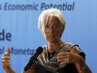 Lagarde, do FMI, prevê crescimento global mais fraco que o esperado