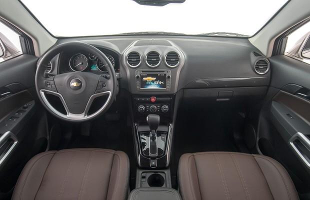 Chevrolet Captiva 2016 (Foto: Divulgação)