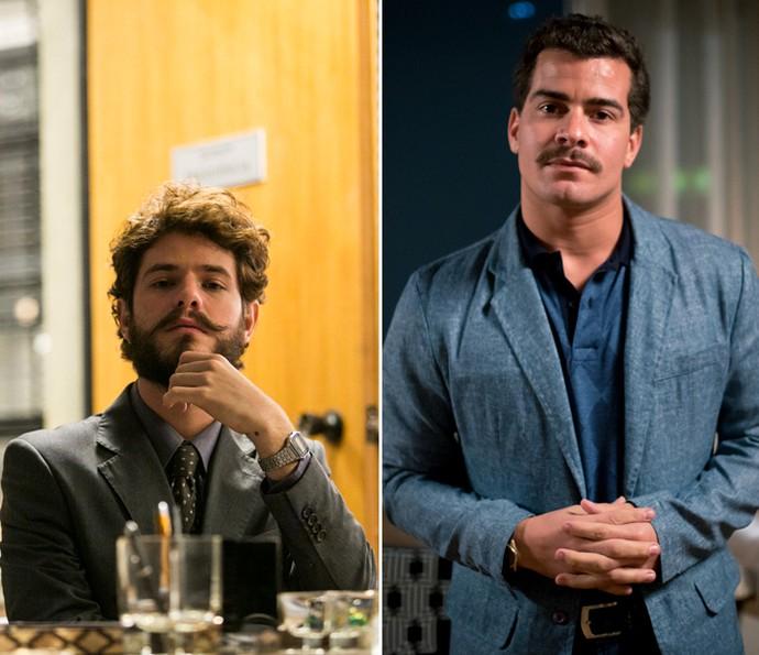 Ciro e Tião são os dois vilões da trama (Foto: Raphael Dias/Fabiano Battaglin/Gshow)