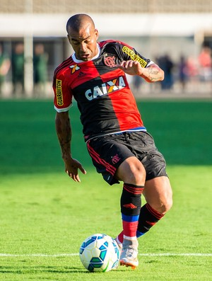 Emerson Sheik, atacante do Flamengo (Foto: Jana Aguiar)