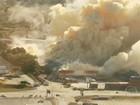 Bombeiros tentam conter nuvem de fumaça após explosão em SC