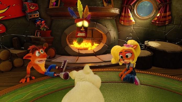 Crash Bandicoot N. Sane Trilogy: confira a análise da coleção remasterizada (Foto: Reprodução/Victor Teixeira)