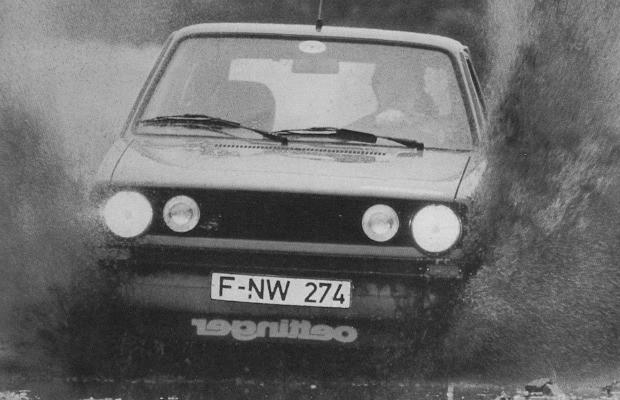 Primeiro Golf GTI foi muito bem preparado pelo Oettinger em pessoa (Foto: Divulgação)