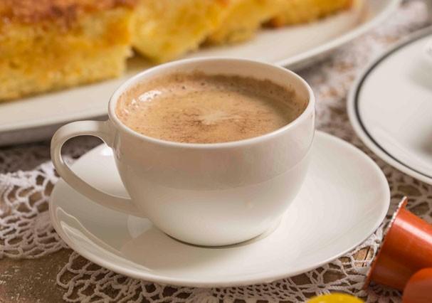 Pumpkin Latte ou café com abóbora (Foto: Dante Pires)