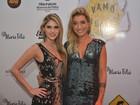 Bárbara Evans e Gabriela Pugliesi vão a evento no Recife