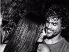 Felipe Roque se declara para Aline Riscado na web: 'Amor'