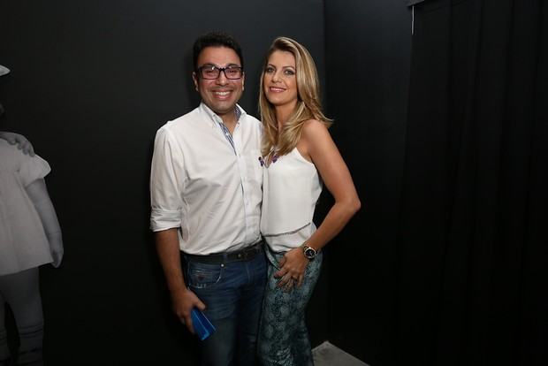 Robson Jassa e a mulher (Foto: Cláudio Augusto/Brazil News)