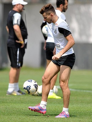 Lucas Lima meia Santos (Foto: Ivan Storti / Santos FC)