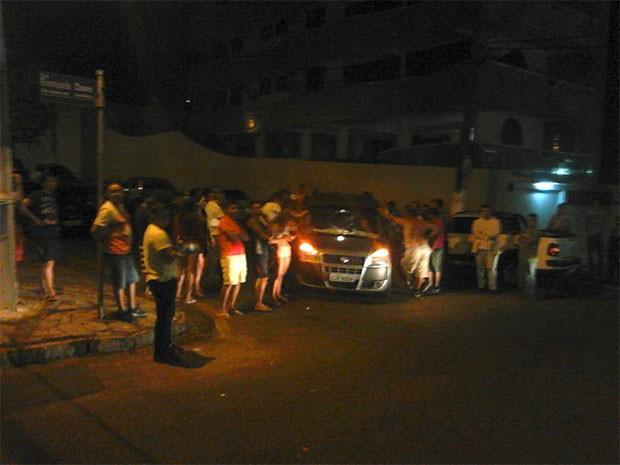 Blitz aconteceu na madrugada deste sábado na Zona Sul da capital potiguar (Foto: Capitão Styvenson Valentim)