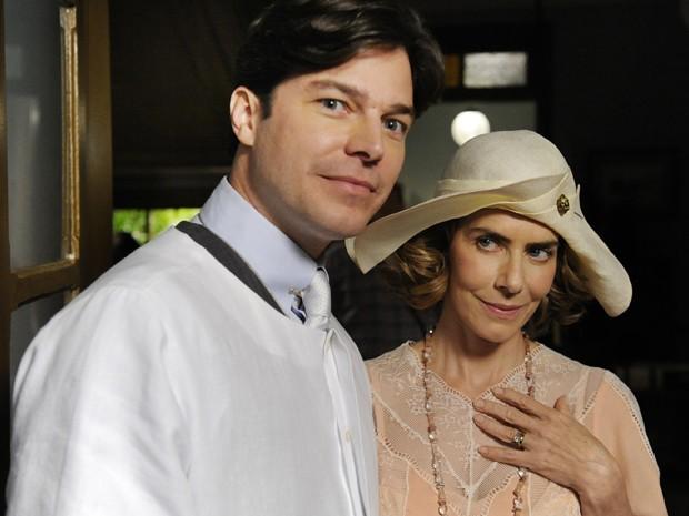 Erik Marmo contracenou com Maitê Proença em Gabriela (Foto: Estevam Avellar / TV Globo)