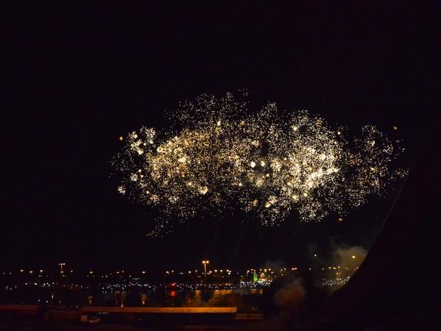 Tradicional queima de fogos ocorrerá no Parque Anauá, em Boa Vista (Foto: Secom/Divulgação)