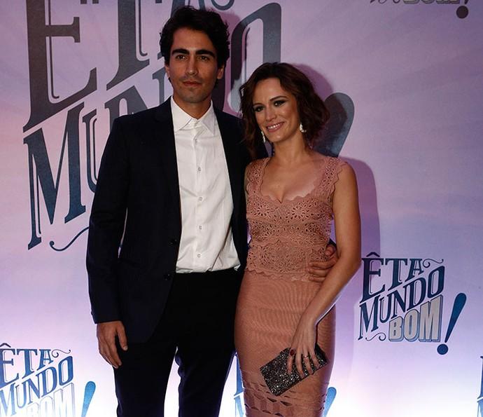 Bianca Bin e o marido Pedro Brandão também estão no elenco de 'Êta Mundo Bom!' (Foto: Inácio Moraes / Gshow)