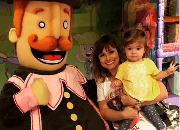 Duda Little e a filha, Ana Laura (Foto: Reprodução/Instagram)