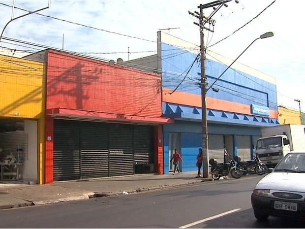 Avenida da Saudade pode ganhar terceira faixa de veículos (Foto: Reprodução/EPTV)