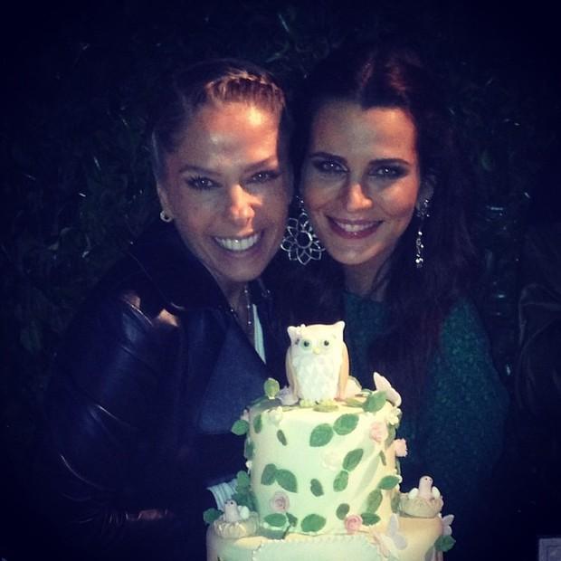 Adriane Galisteu e Fernanda Motta (Foto: Instagram / Reprodução)