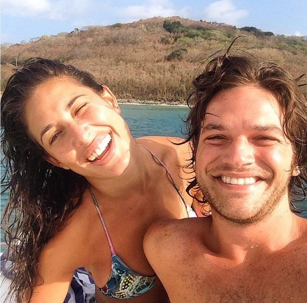 Giselle Itié e Emilio Dantas (Foto: Reprodução/Instagram)