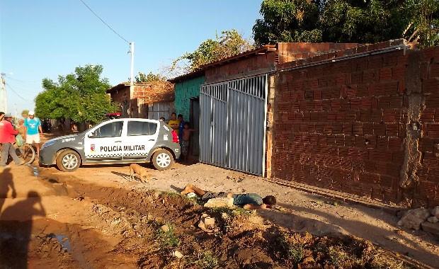 Antônio Marcos Rodrigues de Andrade, o Teté Cearense, foi morto em Mossoró (Foto: Gilli Maia)