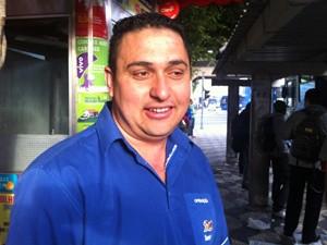 Silvio aprovou novas faixas de ônibus (Foto: Letícia Macedo / G1)