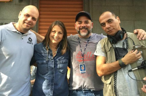 Equipe da RBS TV produziu reportagem especial para o Globo Repórter (Foto: Arquivo Pessoal)
