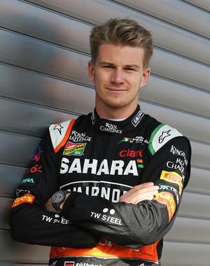 Nico Hulkenberg renova com Force India para 2015 (Foto: Divulgação)