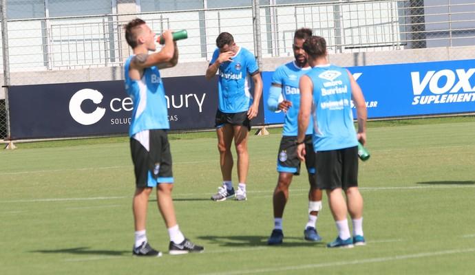 Treino Grêmio (Foto: Tomás Hammes/GloboEsporte.com)